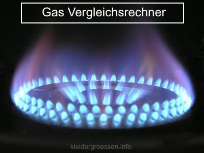Gas Vergleichsrechner