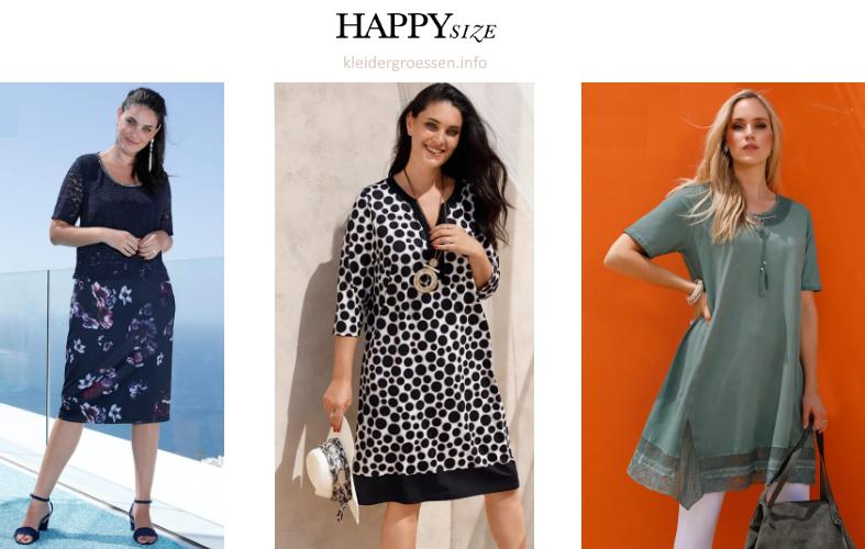 Happy Size Kleider