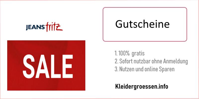 Jeans Fritz gutscheine