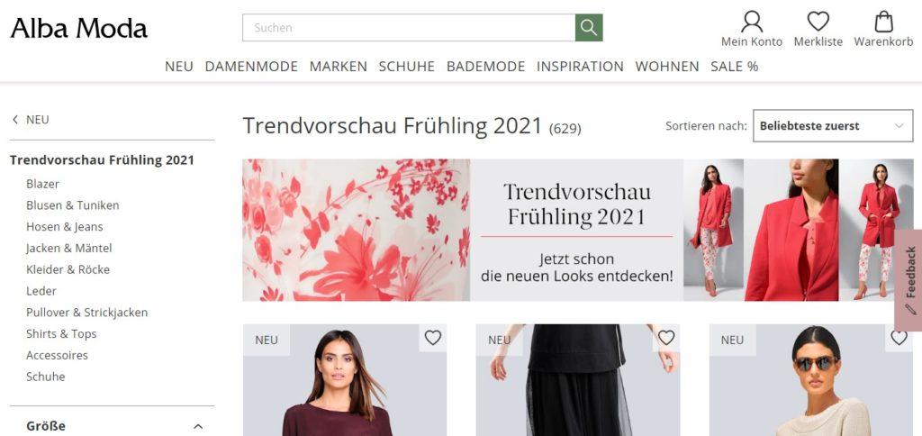 Trendvorschau Frühling 2021