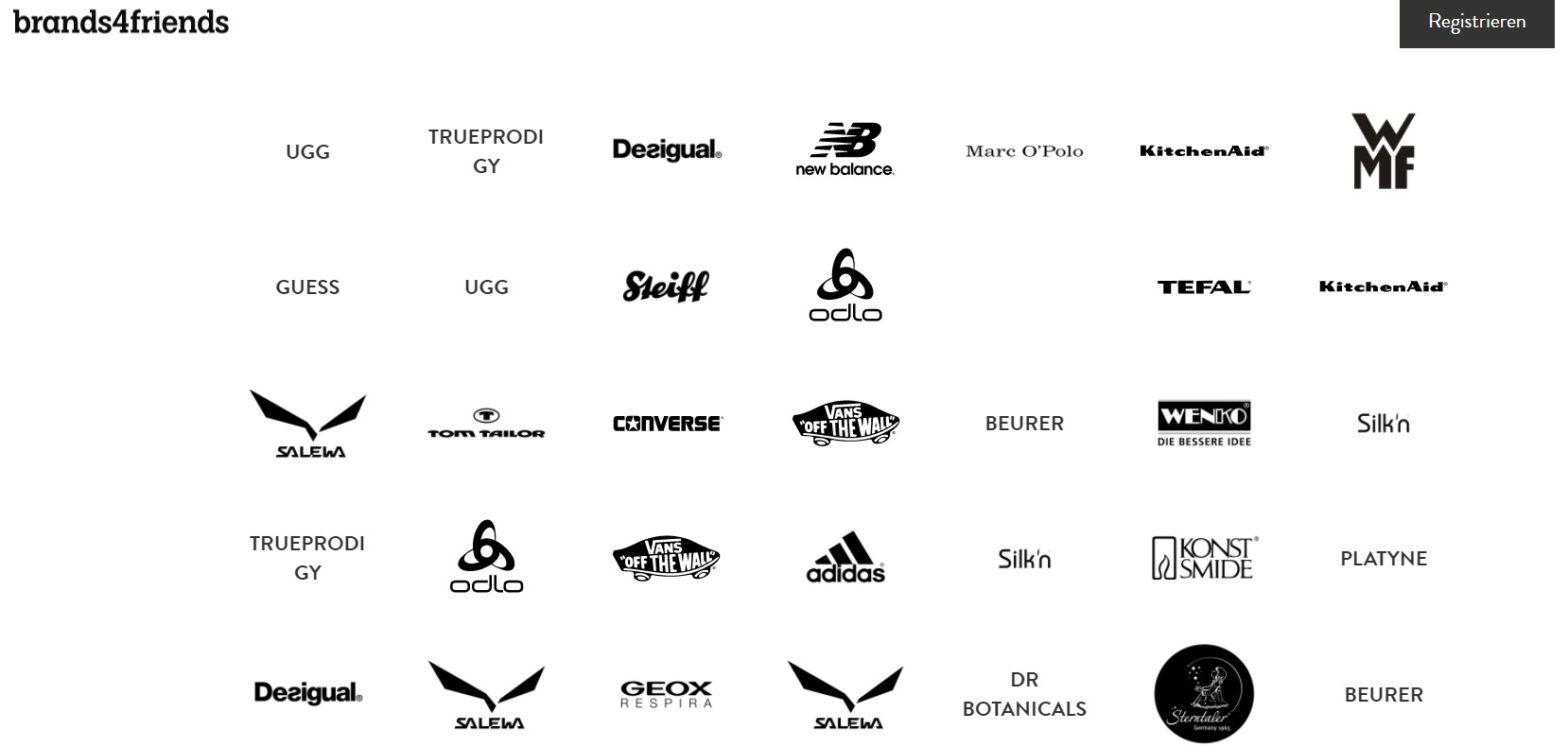 brands4friends brands