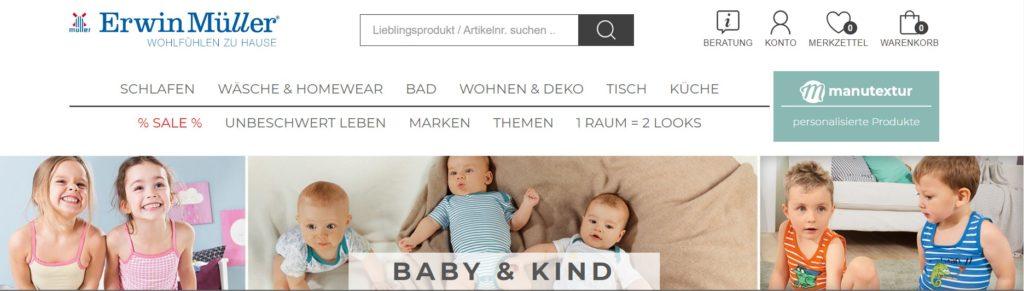 erwin müller baby kind