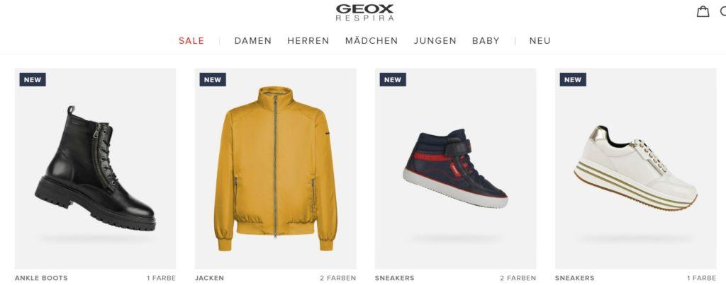 geox online shop