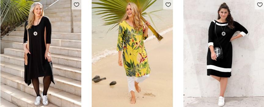 Mia Moda Damen Kleider Größe 52