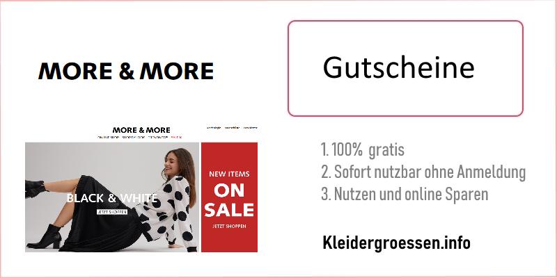 more & more gutscheine