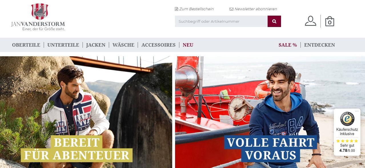 5XL   NEU Herren Jeans Jan Vanderstorm  Blau  Gr 66 33