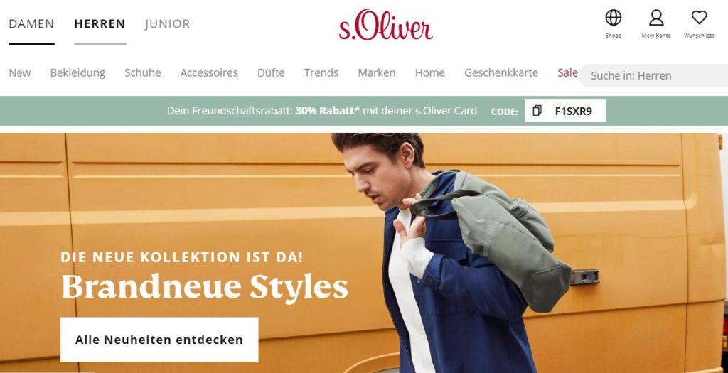 s.Oliver Herren Mode