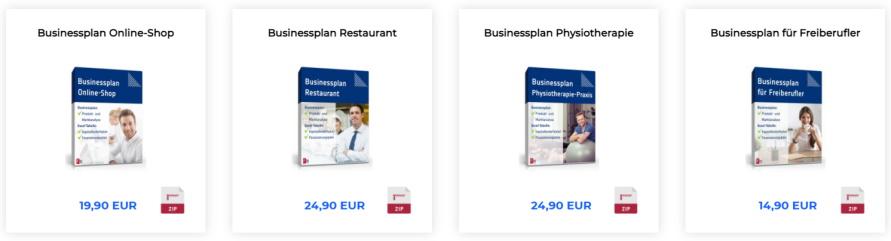 formblitz businesspläne