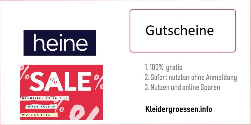 Heine Gutscheine