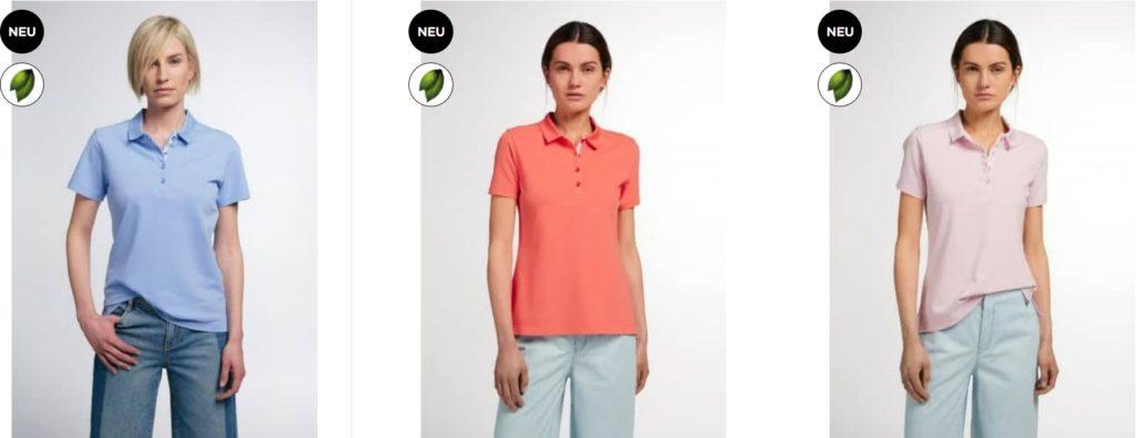Eterna Damen Polos Shirts