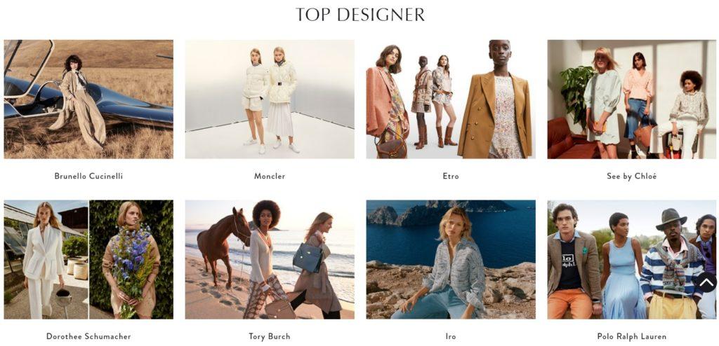 top designer fashion