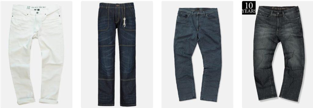untersetzte herren hosen jeans ulla popken jp 1880