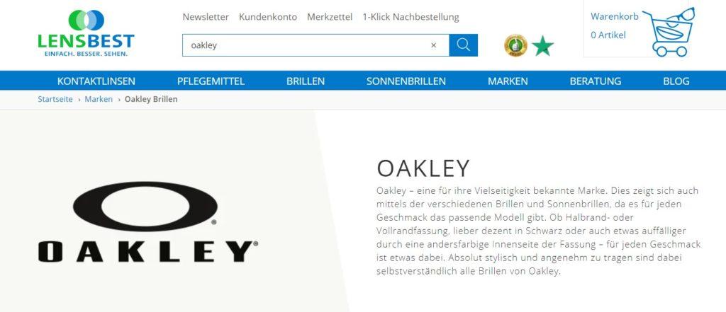 Lensbest Oakley