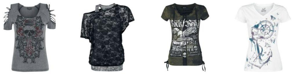 Damen T-Shirts, Tops, Jacken, Kapuzenpullover, Longsleeves Größen