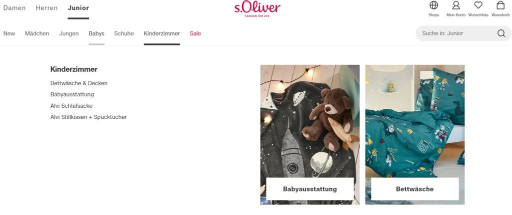 s. Oliver Größen