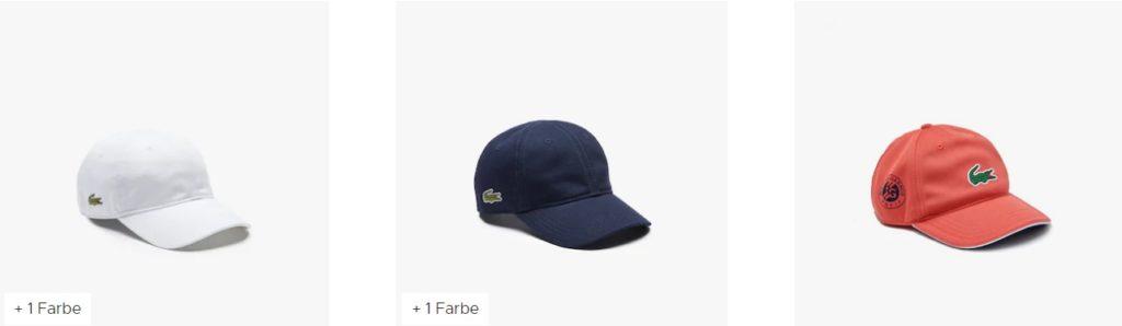 lacoste kinder caps