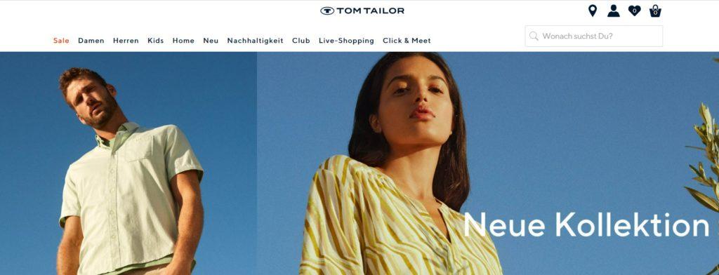 neue kollektion new fashion tom tailor