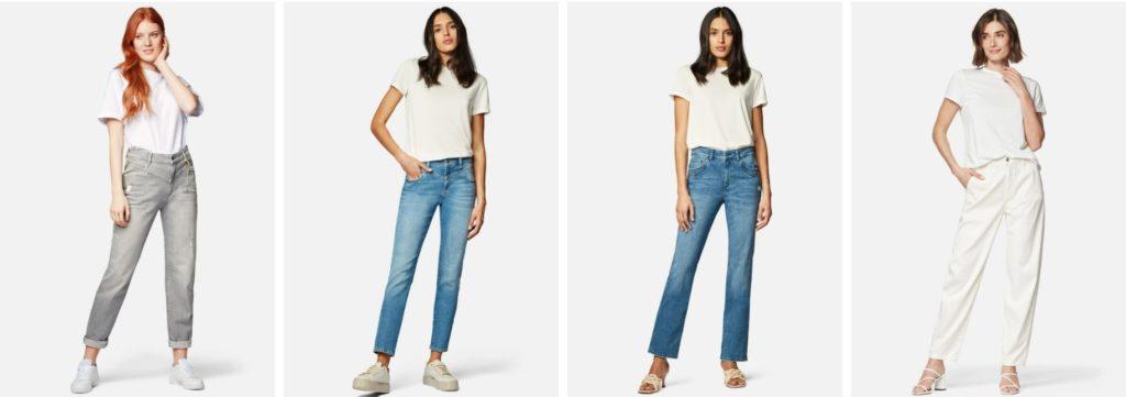 damen jeans paßformen