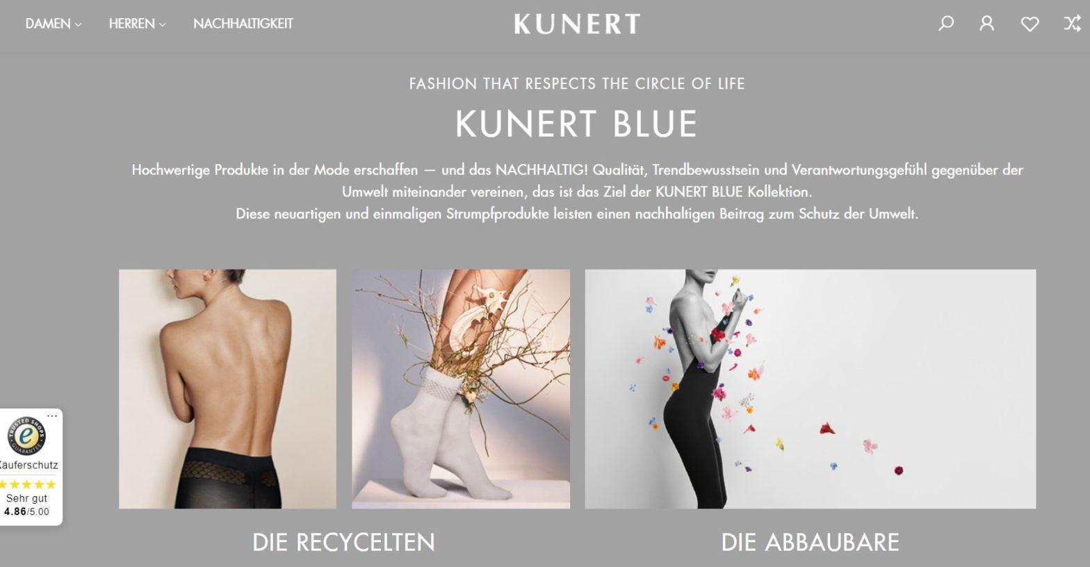 kunert 2021 online shop