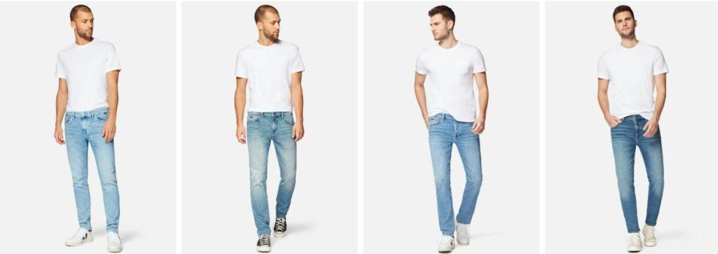 mavi herren jeans paßformen