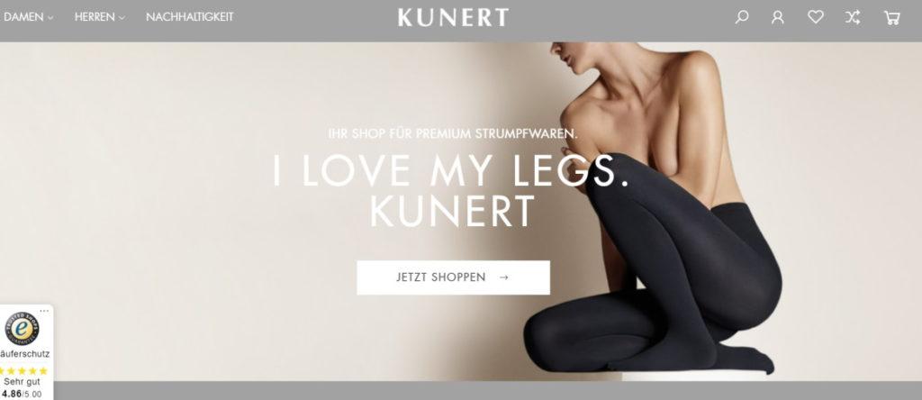 online shop kunert
