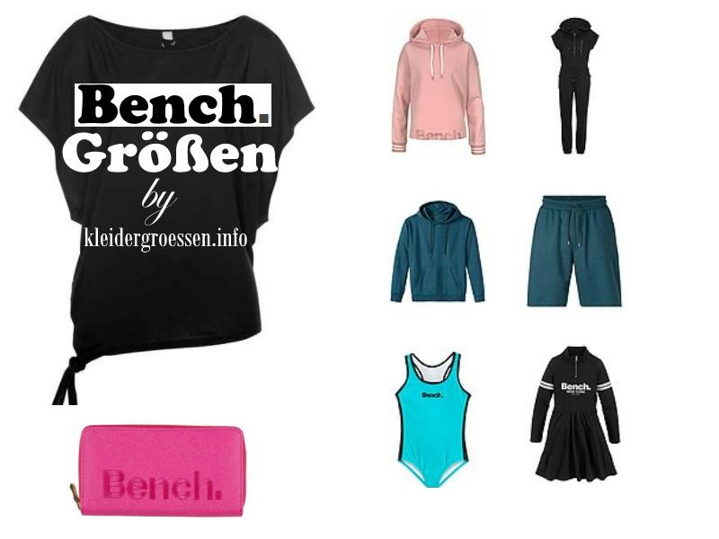bench größen by kleidergroessen.info