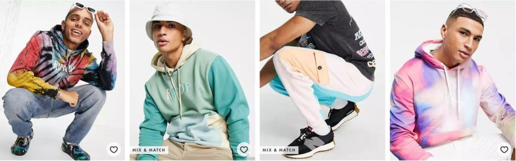 Asos Herren Mode Farben