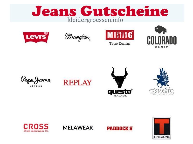 Jeans Gutscheine