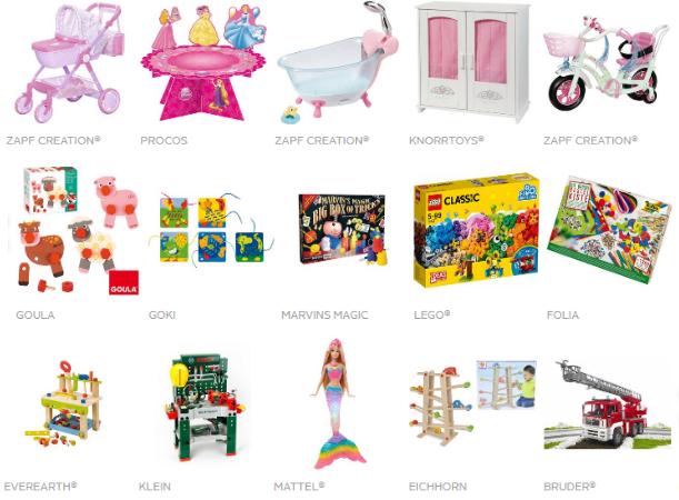 Kinder Markenspielzeug
