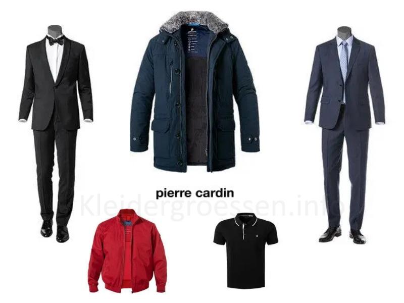 pierre cardin fashion größen