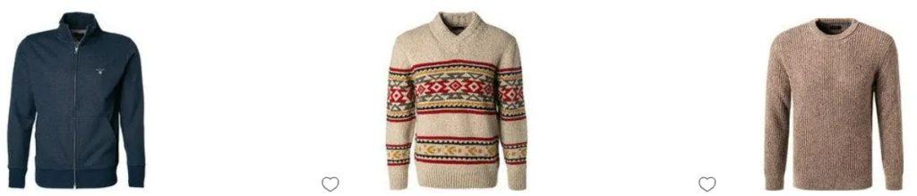 Pullover Größen